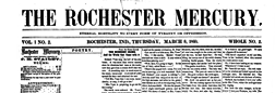 Rochester Mercury newspaper archives