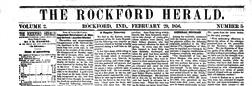 Rockford Herald newspaper archives