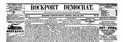 Rockport Democrat newspaper archives