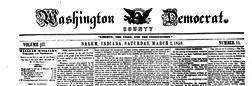 Salem Washington County Democrat newspaper archives