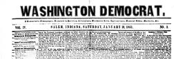 Salem Washington Democrat newspaper archives