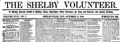 Shelbyville Shelby Volunteer newspaper archives