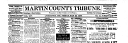 Shoals Martin County Tribune newspaper archives