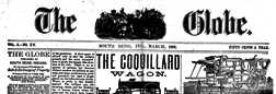 South Bend Globe newspaper archives