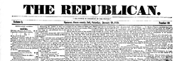 Spencer Republican newspaper archives