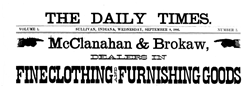 Sullivan Daily Times newspaper archives