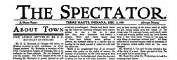 Terre Haute Spectator newspaper archives