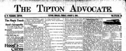 Tipton Advocate newspaper archives
