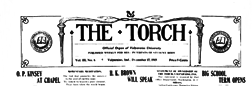 Valparaiso Torch newspaper archives