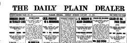 Wabash Daily Plain Dealer newspaper archives