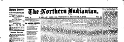 Warsaw Northern Indianian newspaper archives
