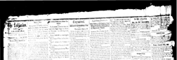 Warsaw Weekly Northen Indianian newspaper archives