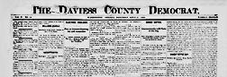 Washington Daviess County Democrat newspaper archives