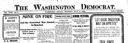 Washington Democrat Washington Indiana newspaper archives
