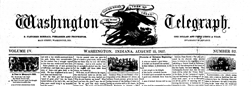 Washington Telegraph newspaper archives