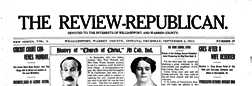 Williamsport Review Republican newspaper archives