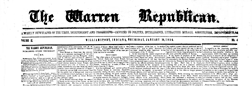 Williamsport Warren Republican newspaper archives