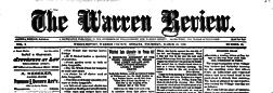 Williamsport Warren Review newspaper archives