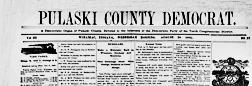 Winamac Pulaski County Democrat newspaper archives