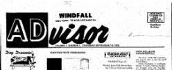 Windfall Advisor newspaper archives