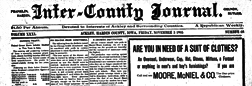 Inter County Journal newspaper archives
