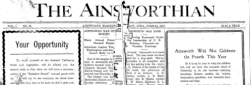 Ainsworthian newspaper archives