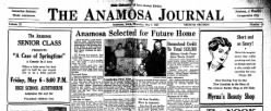 Anamosa Journal newspaper archives