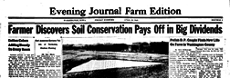 Evening Journal Farm Edition Anamosa Iowa newspaper archives