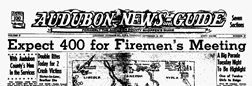 Audubon News Guide newspaper archives