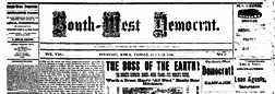 South West Democrat newspaper archives