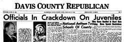 Bloomfield Davis County Republican newspaper archives