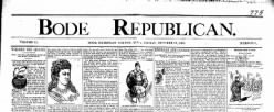 Bode Republican newspaper archives