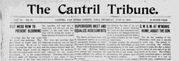 Cantril Tribune newspaper archives