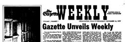 Cedar Rapids Gazette Weekly newspaper archives