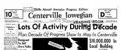 Centerville Iowegian newspaper archives