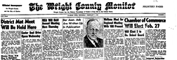 Clarion Wright County Monitor newspaper archives