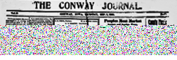 Conway Journal newspaper archives