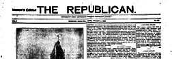 Corning Republican newspaper archives