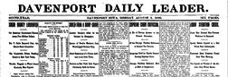 Daily Leader newspaper archives