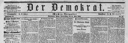Davenport Der Demokrat newspaper archives