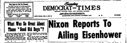 Sunday Democrat And Times newspaper archives