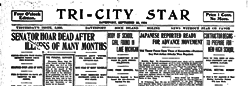 Tri City Star newspaper archives