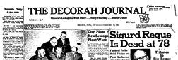 Decorah Journal newspaper archives