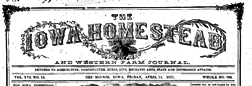 Homestead And Western Farm Journal newspaper archives