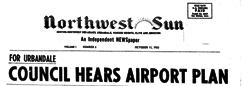 Northwest Sun newspaper archives