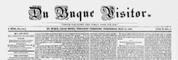 Dubuque Visitor newspaper archives