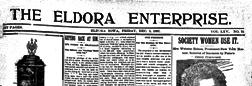 Eldora Enterprise newspaper archives