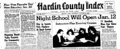 Hardin County Index newspaper archives
