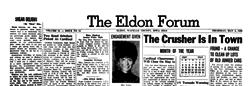 Eldon Forum newspaper archives