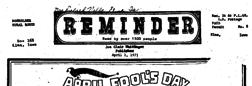 Elma Reminder newspaper archives